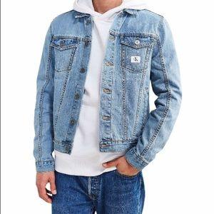 Calvin Klein Reissue Denim Trucker Jean Jacket